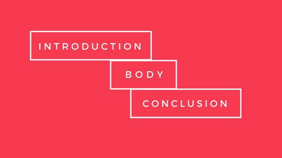 introduction body conclusion